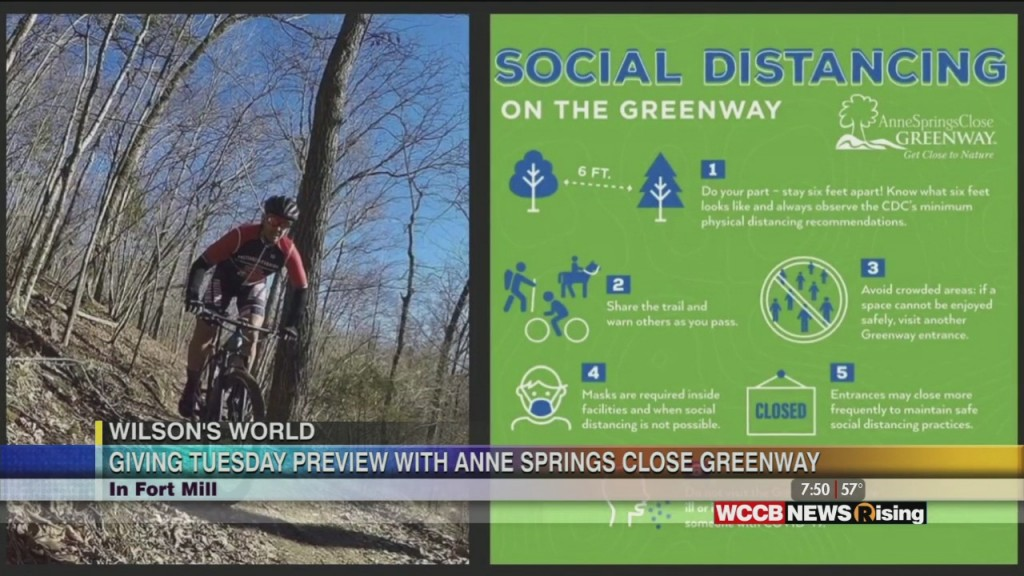 Wilson's World: Visiting Anne Springs Close Greenway Previewing Giving Tuesday