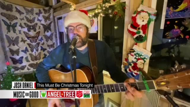 "Josh Daniel ""this Must Be Christmas Tonight"""