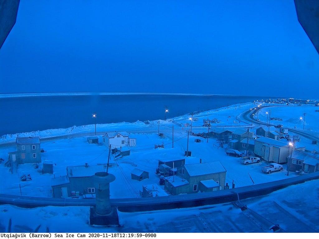 Barrow Sea Ice Cam Alaska 18nov2020