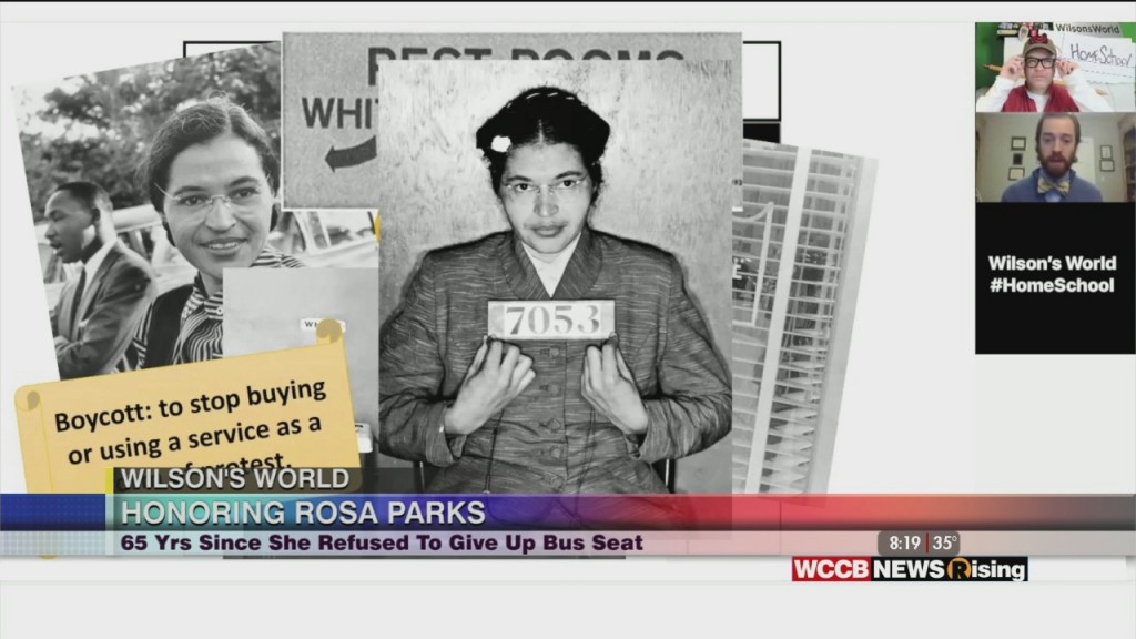 Wilson's World Homeschool: Learning More About Rosa Parks And How She Helped Initiate A Movement
