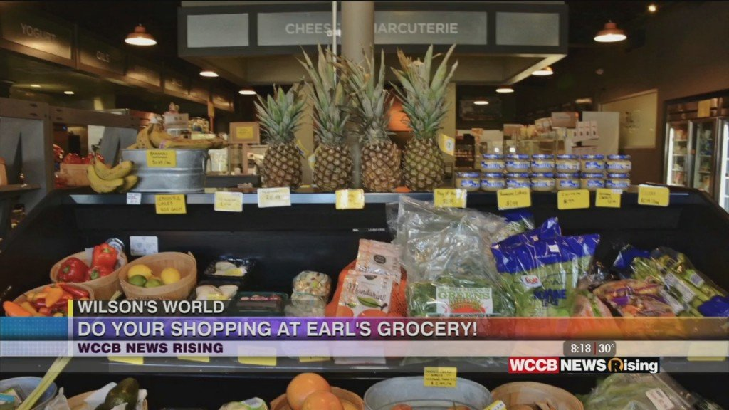Wilson's World: Visiting With Earl's Grocery On Elizabeth Avenue