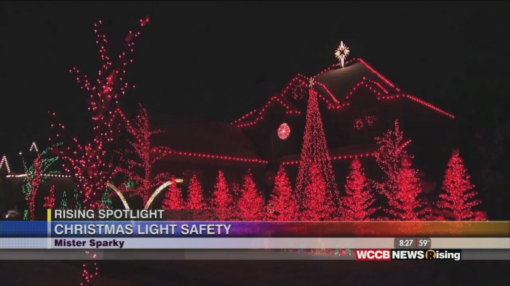 Rising Spotlight: Christmas Light Safety With Mister Sparky