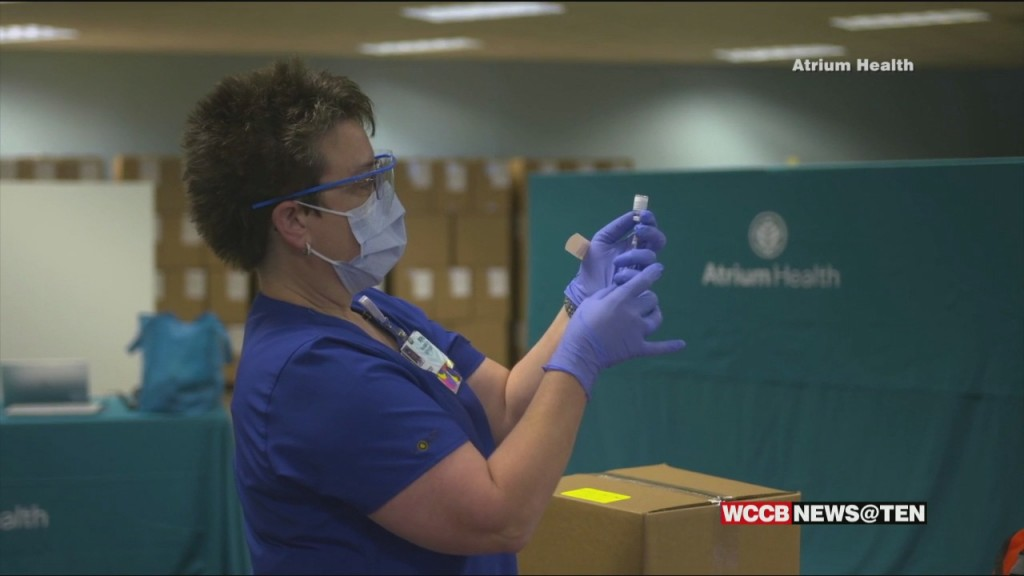 First Person To Get Covid Vaccine In Nc Says It's Less Painful Than A Flu Shot