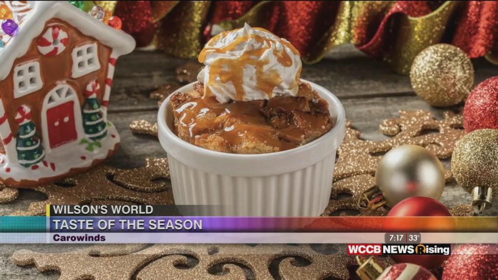 Wilson's World: The Last Weekend Of Carowinds Tast Pf Tje Season: An Outdoor Holidsay Food Festival