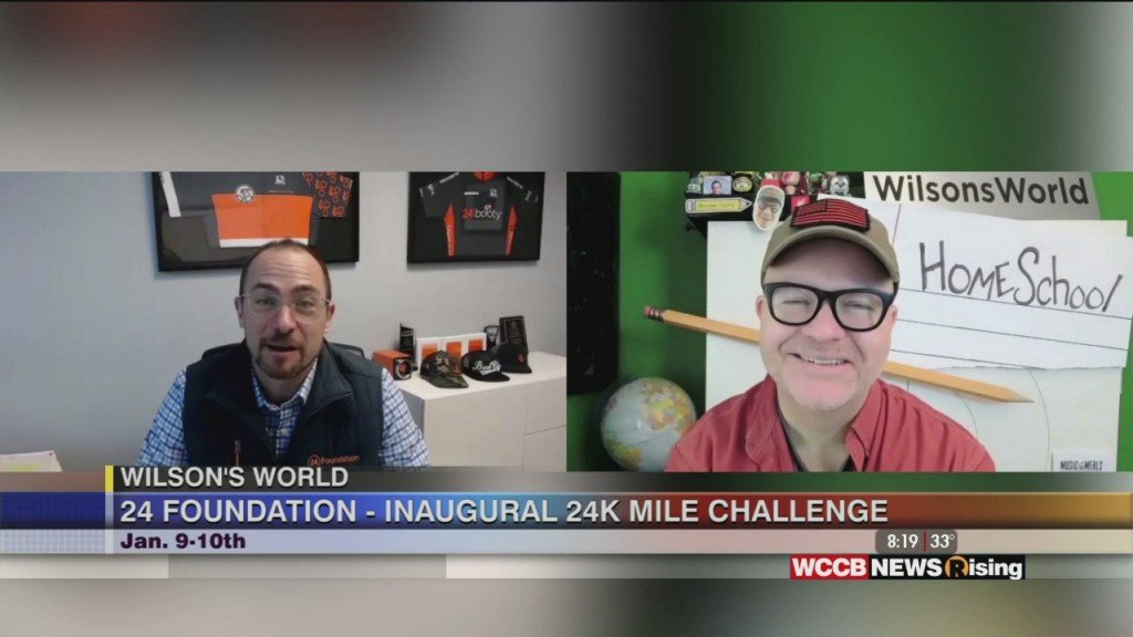 Wilson's World: 24 Foundation To Host Inaugural 24,000 Mile Challenge In January