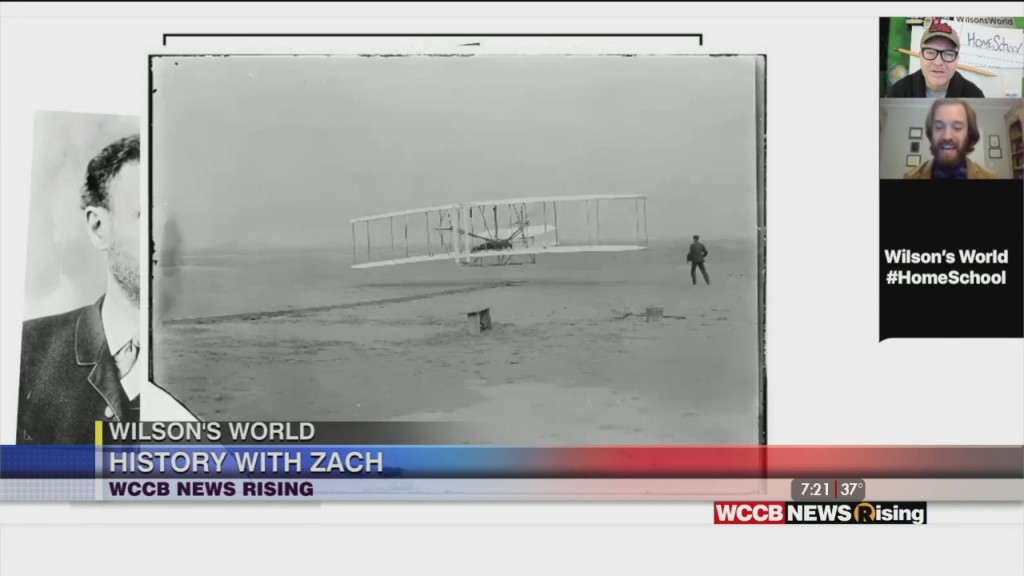 Wilson's World Homeschool: The Story And Controversy Of The Wright Brothers First Flight In N.c. With Zach The Historian