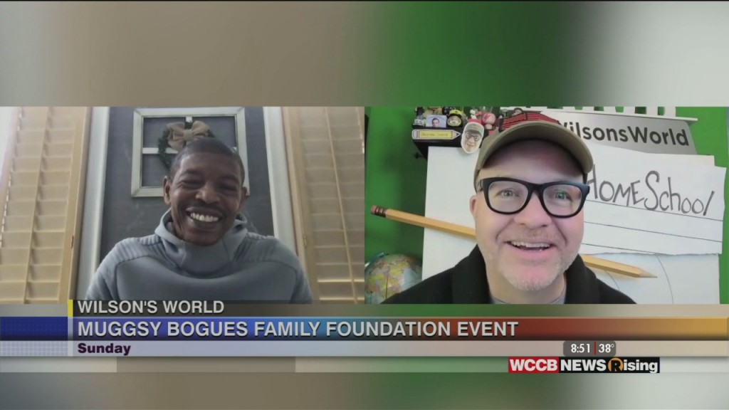 Wilson's World: Muggsy Bogues Talks About His Muggsy Bogues Family Foundation