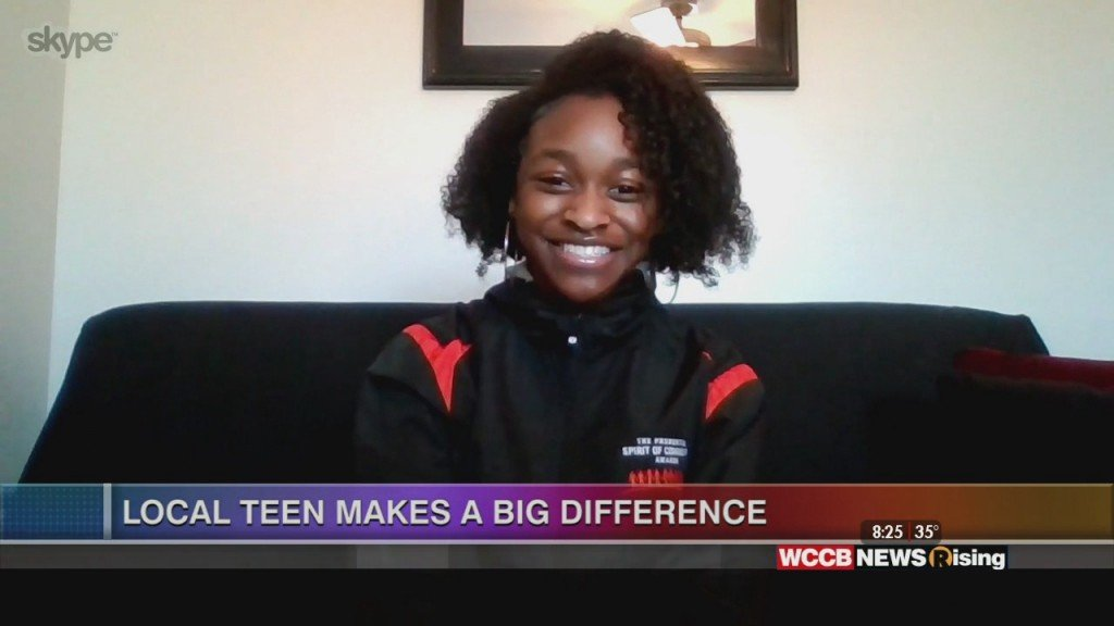 Local Teen Helping Women And Children In Shelters