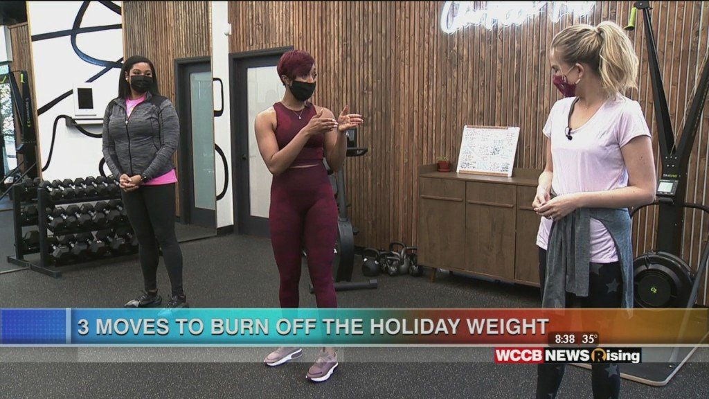 3 Moves To Burn Off Holiday Weight
