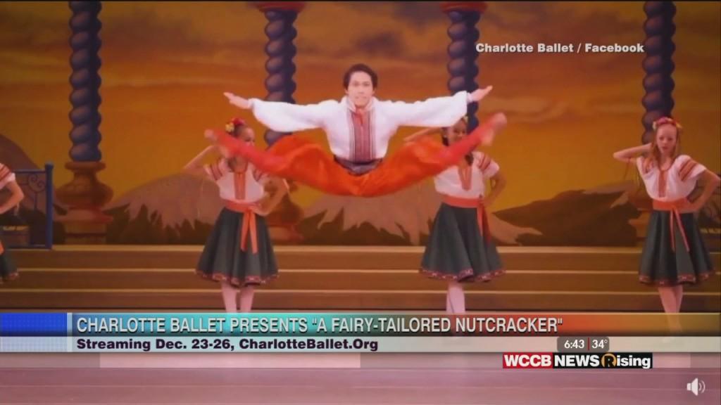 "Rising Spotlight: Charlotte Ballet Presents ""a Fairy Tailored Nutcracker"""