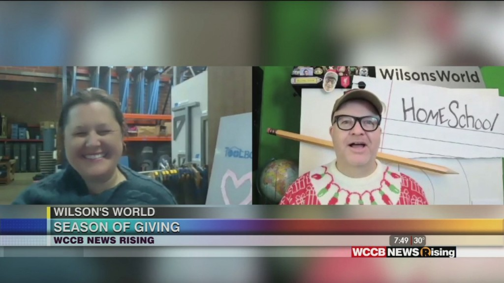 Wilson's World: Season Of Giving With The Charlotte Community Toolbank