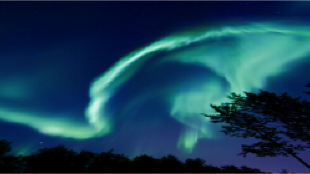 Aurora photo by SWPC