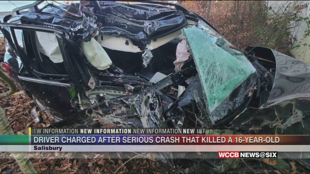 Crash Leaves Teen Dead, 3 Others Injured In Salisbury
