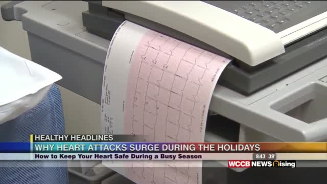 Healthy Headlines: Why Heart Attacks Surge During The Holidays