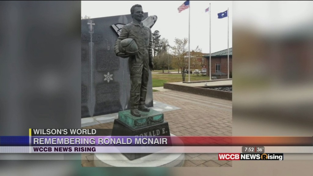 Wilson's World Homeschool: Honoring Challenger Astronaut Dr. Ronald E Mcnair And Learning More About The Ronald E Mcnair Life History Center