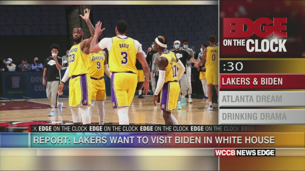Lakers Could Come To Biden White House