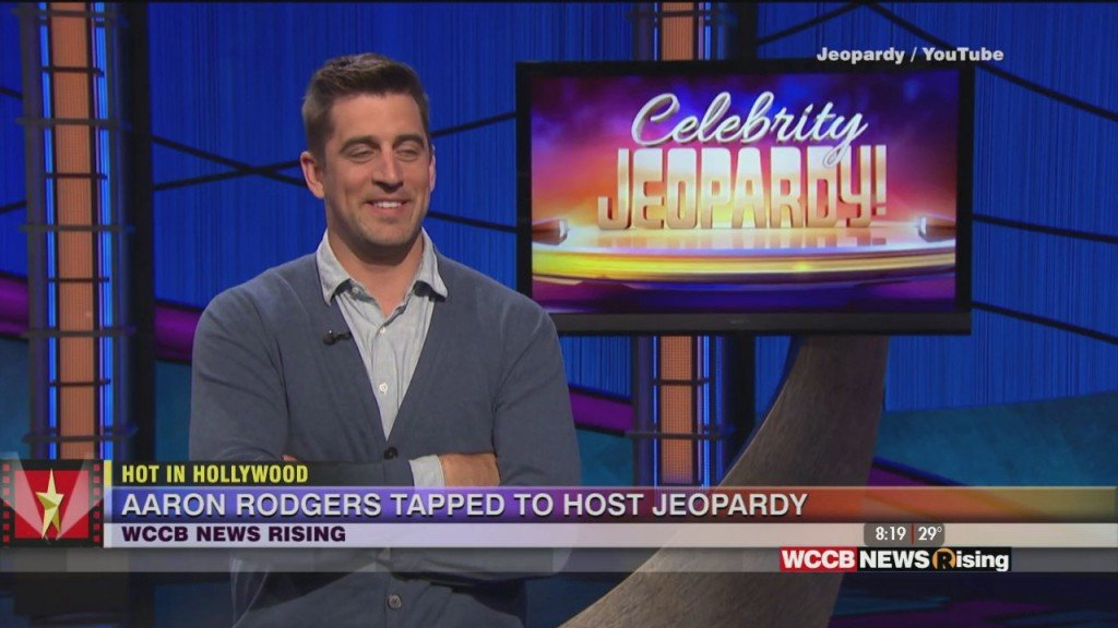 Hot In Hollywood: Aaron Rodgers To Guest Host 'jeopardy' And Rumors Of A Selena Gomez Spanish Language Project