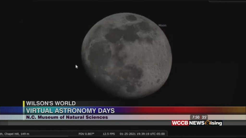 Wilson's World Homeschool: It's Virtual Astronomy Days At The Nc Museum Of Natural Sciences