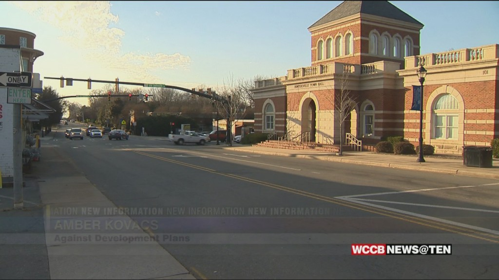 Huntersville Town Commission Votes 3 2 To Move Forward With Downtown Revitalization