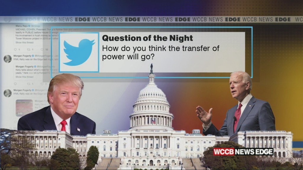 How Do You Think The Transfer Of Power Will Go?