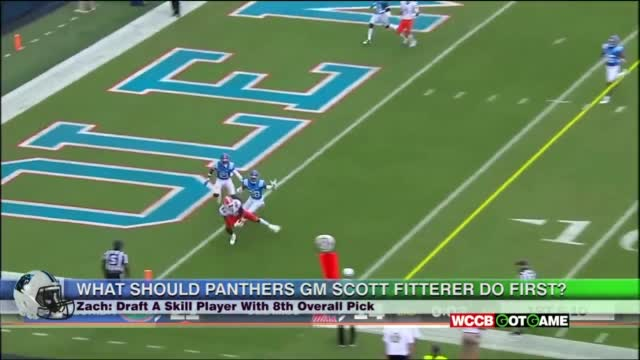What Should New Panthers Gm Scott Fitterer Do First