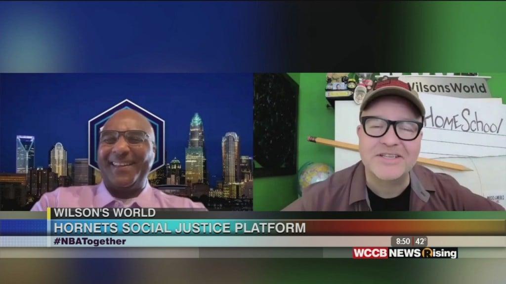 Wilson's World: The Hornets Sports & Entertainment Social Justice Platform