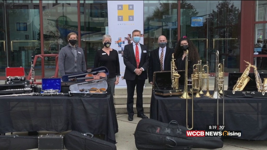 Wilson's World: Arts+ Receives Major Instrument Donation From National Pawn