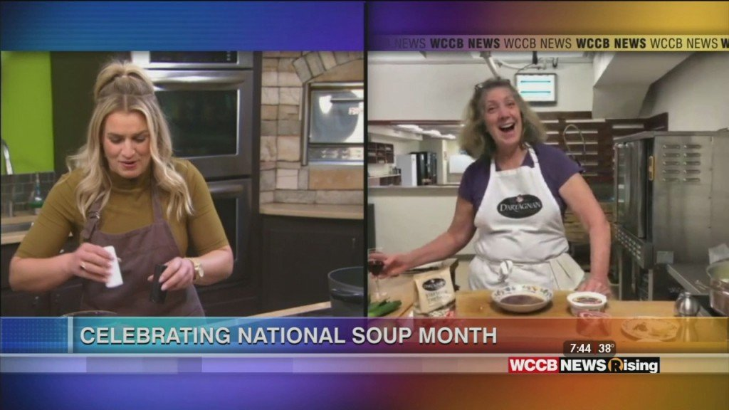 National Soup Month With Chef Ariane Daguin