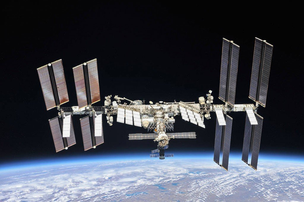 Photo of the ISS by NASA