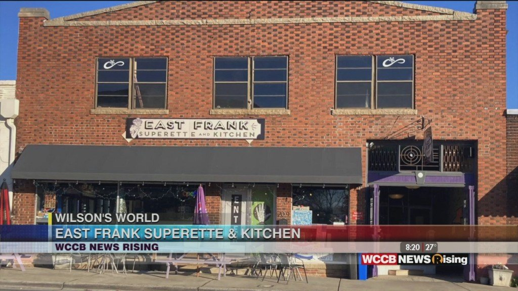 Wilson's World: Introducing Us To East Frank Superette & Kitchen In Monro