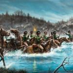 Battle Of Cowans Ford Dan Nance