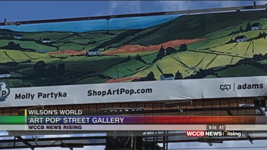 Wilson's World: Discussing The New 2021 #artpopclt Billboards With Artist Molly Partyka