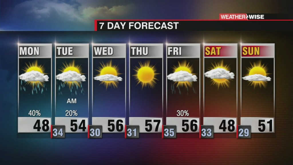 7 Day Forecast (1/11/21)