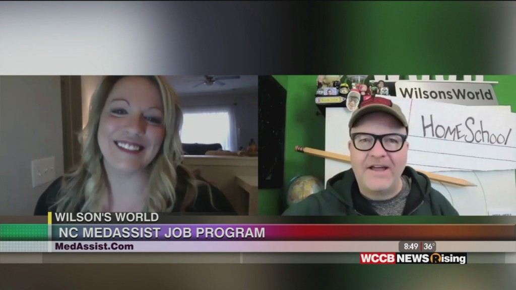 Wilson's World: Job Training Opportunities With Nc Medassist