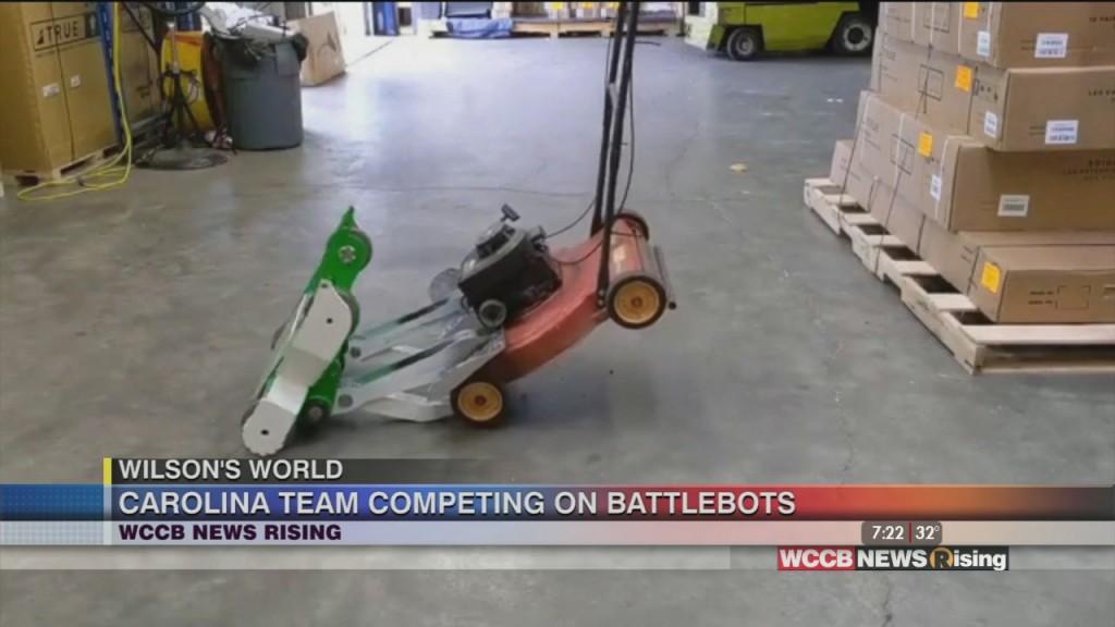 Wilson's World Homeschool: Carolina Team Battling It Out On Discovery Channel's Battlebots