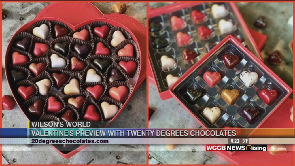 Wilson's World: Finding The Perfect Chocolate For Your Valentine At Twenty Degrees Chocolates