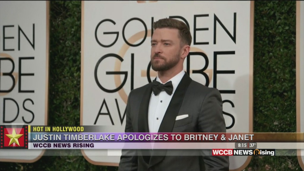 Hot In Hollywood: Justin Timberlake Apologizes To Britnet And Janet And Meghan Trainor Makes Valentine's Day Announcement