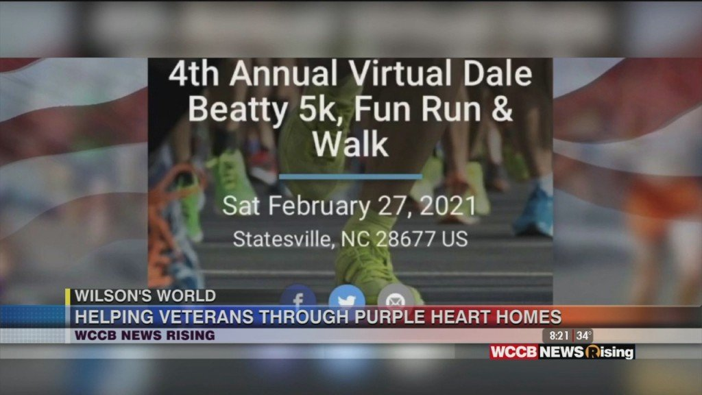Wilson's World: Previewing The Annual Dale Beatty Memorial Virtual 5k With Purple Heart Homes