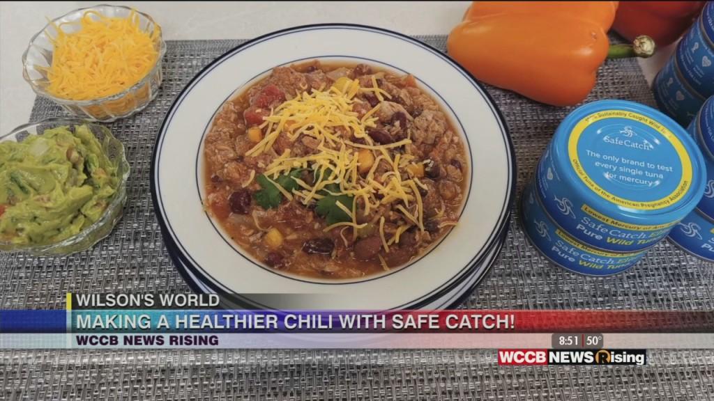 Wilson's World: Preparing A Tuna Chili With Safe Catch Tuna