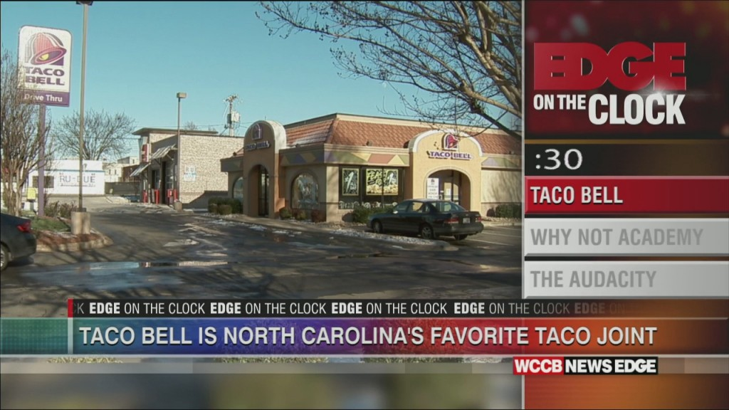 Taco Bell Is Nc's Favorite