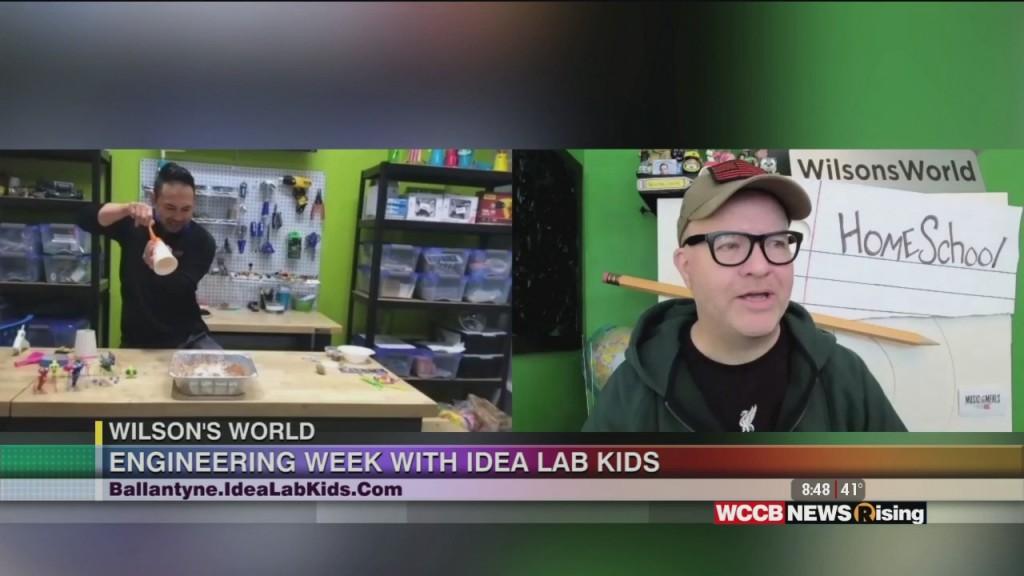 Wilson's World Homeschool: Enjoying Engineering Week With Idea Labs Kids