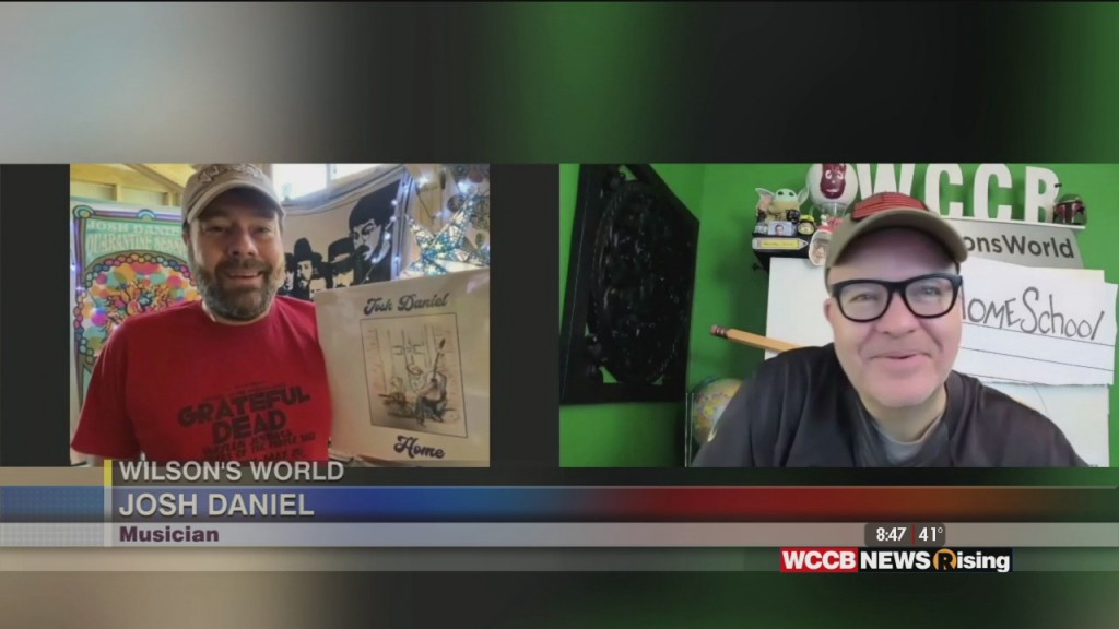 Wilson's World: Talking With Josh Daniel About His Big Game Halftime Livestream Concert