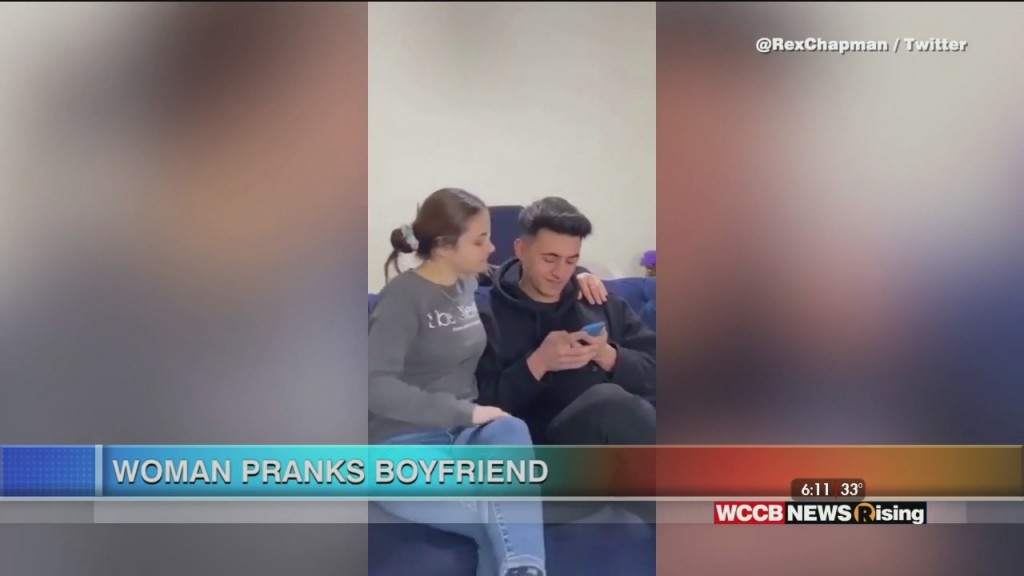 Viral Videos: Woman Pranks Boyfriend