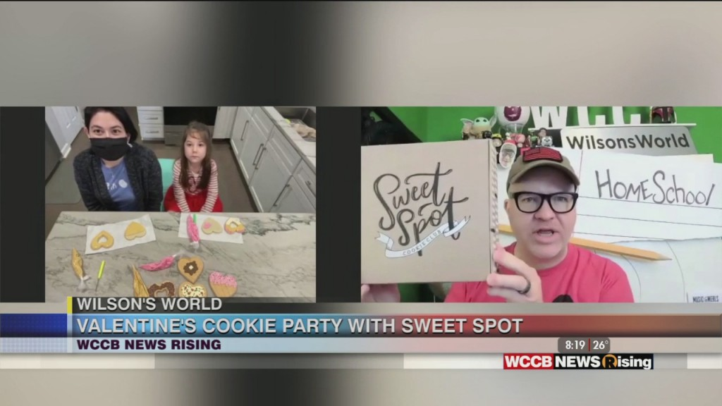 Wilson's World Homeschool: The Sweet Spot Cookie Club Is Ready For Sweet Valentine's Day Fun