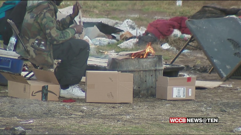 "Local Non Profits Helping Evacuate ""tent City"" Ahead Of Friday 5 P.m. Deadline"