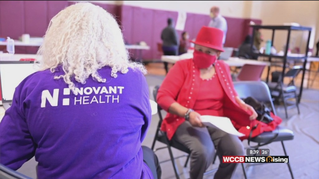 Healthy Headlines: Novant Health Provides Covid 19 Vaccinations To Charlotte Area Seniors And Charlotte Mayor Vi Lyles