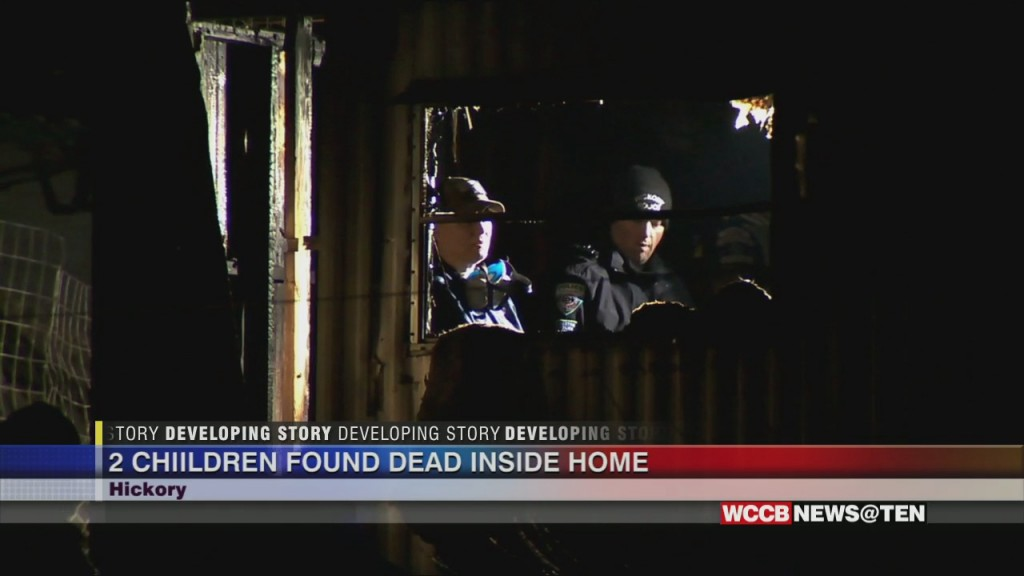2 Children Dead In Hickory Fire