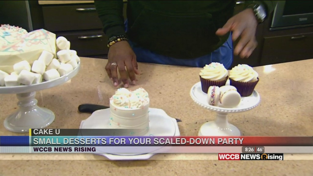 Cake U: Previewing Small Desserts With Bw Sweets Bakery