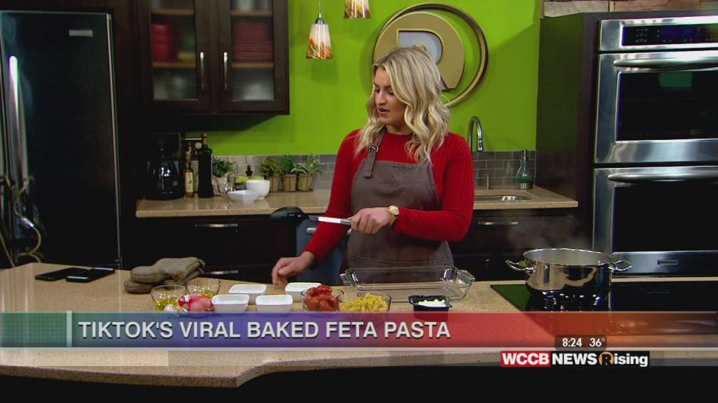 Tiktok's Viral Baked Feta Pasta