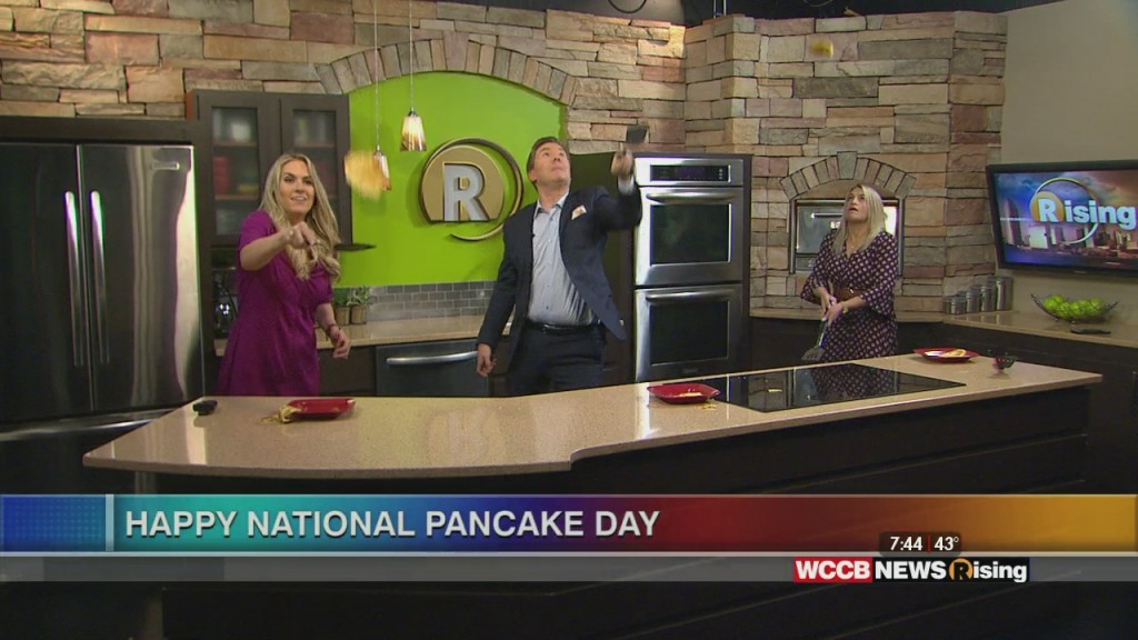 Pancake Flipping Contest